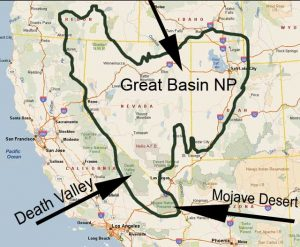 Great Basin Map 1