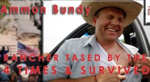 Ammon Bundy Tased 1