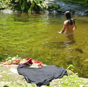 Creek Bathing 3