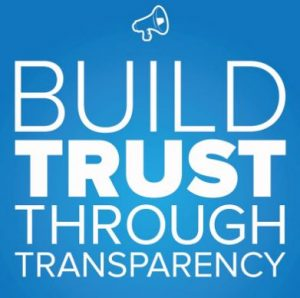 Build Trust Transparency 1