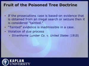 Tainted Evidence 1