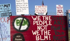 Western BLM Protest Signs 1