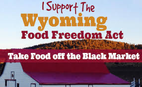 Wyoming Food Freedom 1
