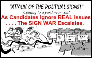Attack of Political Signs 3