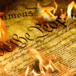 burning of constitution