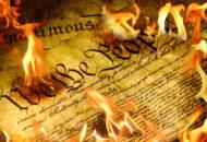 burning of constitution